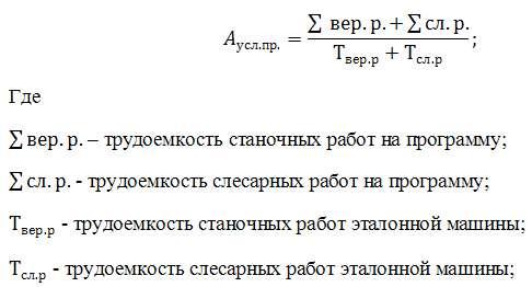Формула количества единиц ремонта
