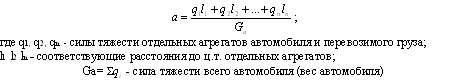 Формула баланса моментов приложенных к первичному валу передач