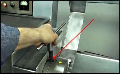 Ключ патрона токарного станка