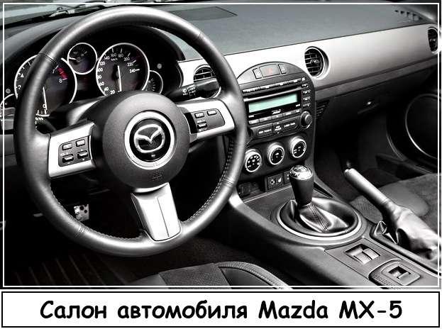 Салон Mazda MX 5