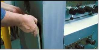 Закрыть крышки токарного станка