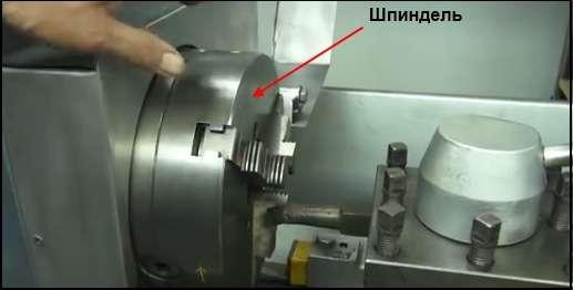 Управление шпинделем токарного станка